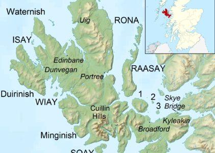 Paddeln in Schottland – Isle of Skye